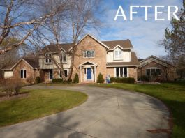 River Hills exterior painting and renovations