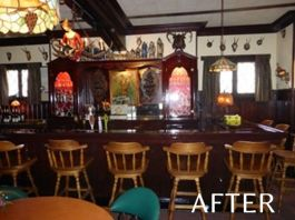 Milwaukee North Side bar remodeling