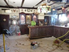 Bar before renovations and remodeling in Whitefish Bay